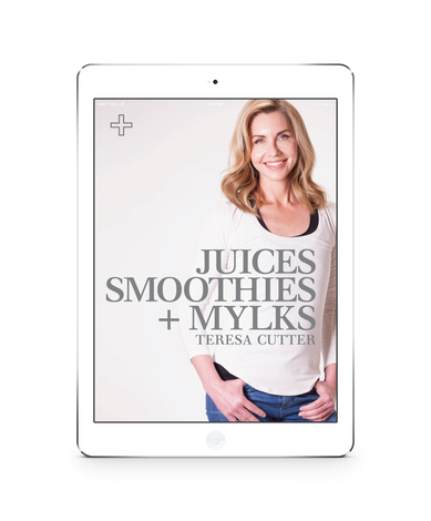 Juices, Smoothies + Mylks - ebook mini-ebook The Healthy Chef