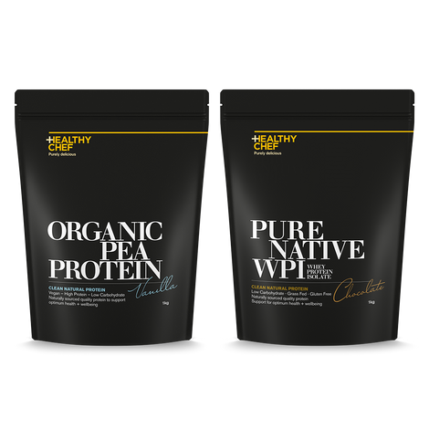 Protein Twin Pack 1Kg _redirect The Healthy Chef