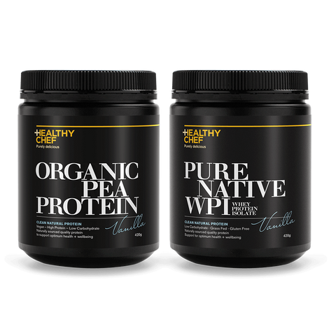 Protein Twin Pack 420g _redirect The Healthy Chef