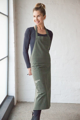 The Cook's Apron - Olive Green