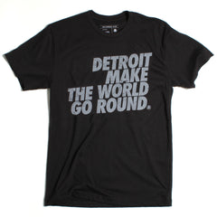 Detroit Make the World Go Round Tee - International
