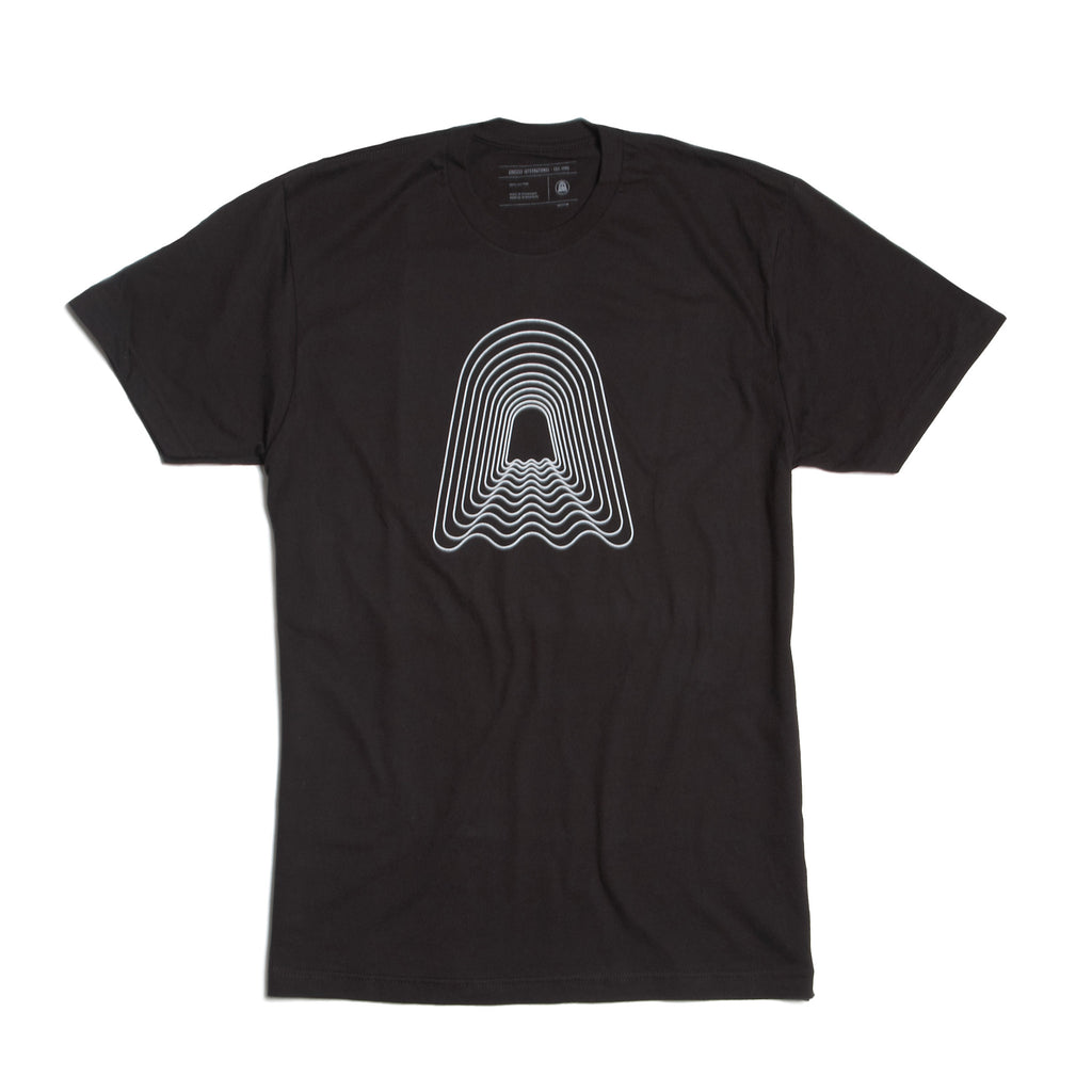 Echo Logo Tee - Black