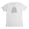 Echo Logo Tee - White - International