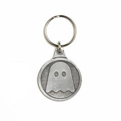 Ghostly Logo Keychain - International
