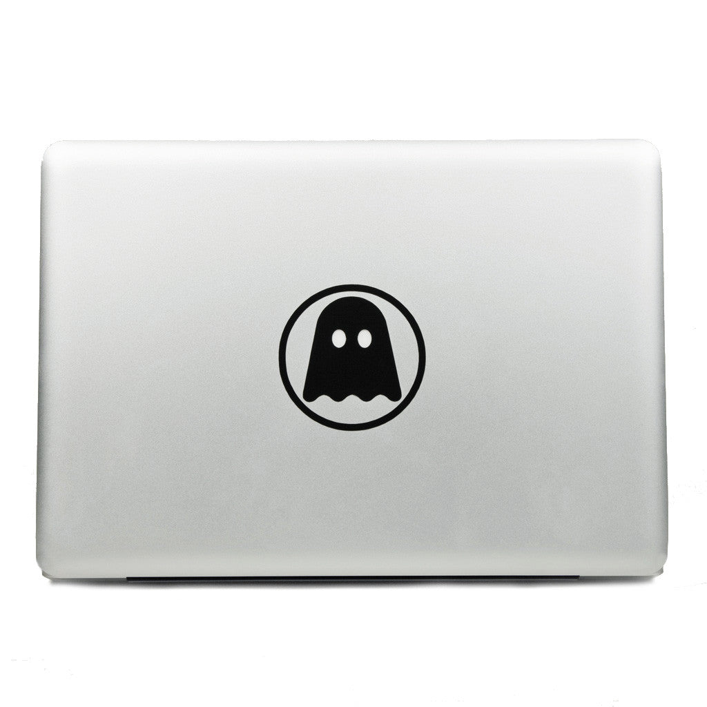 Ghostly ghostly laptop decals