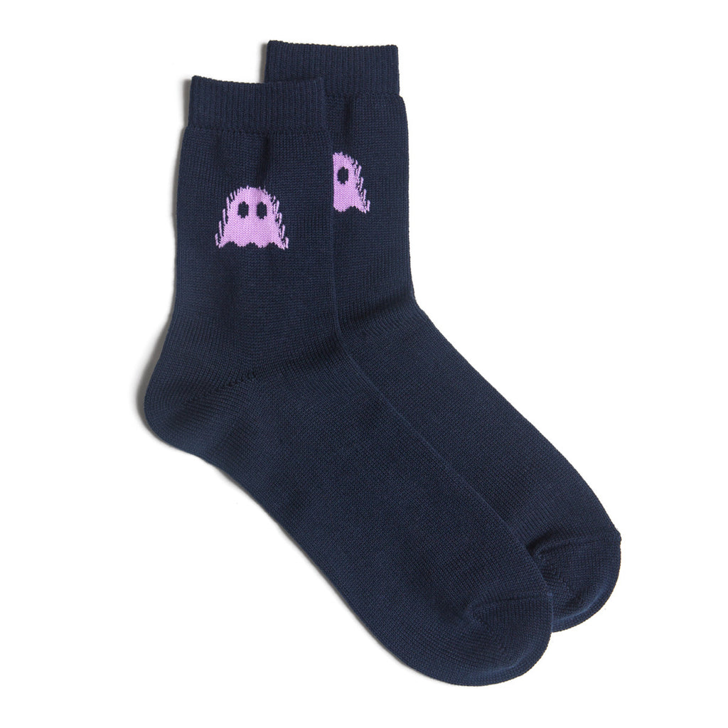 Ghostly Logo Socks - Navy