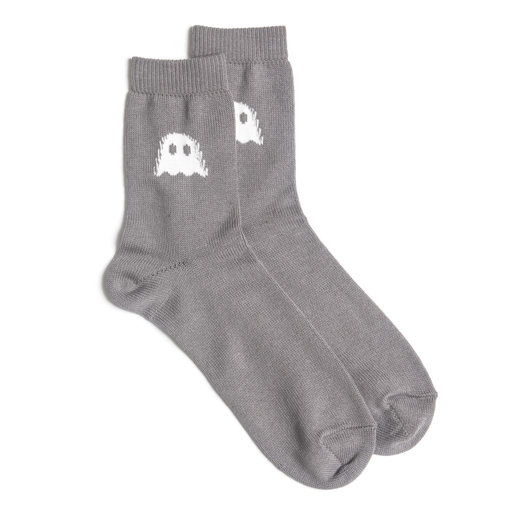 Ghostly Logo Socks - Grey - International