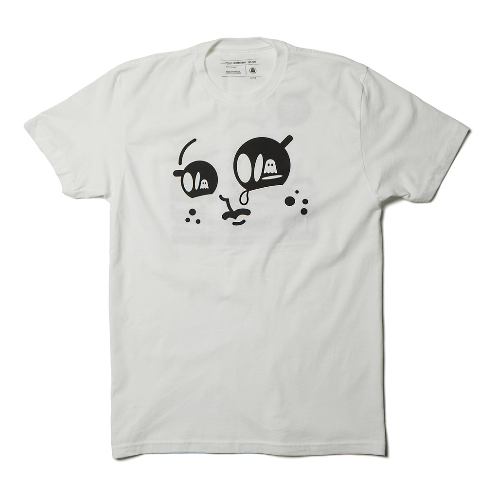 Ghostly '97 Tee - White