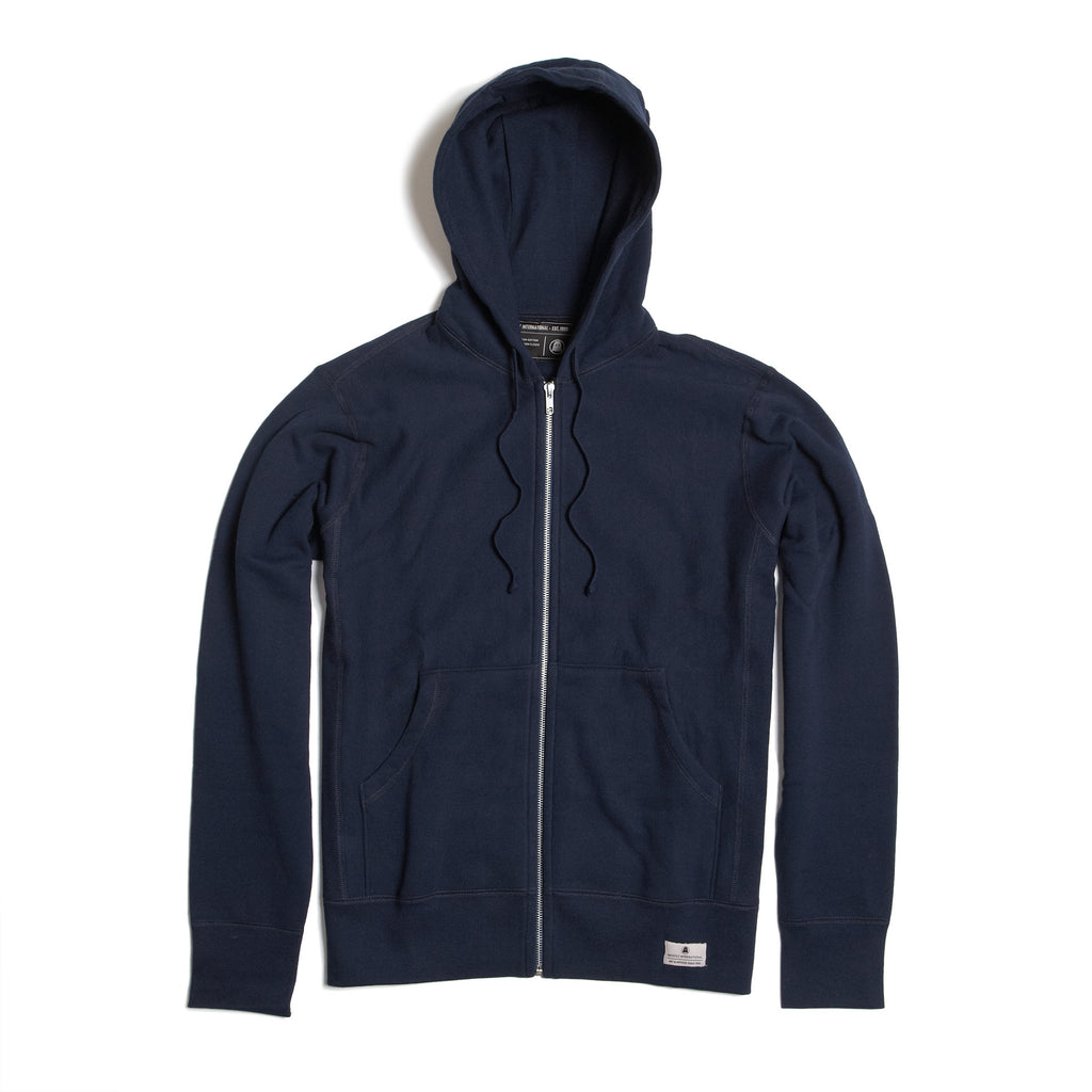 Navy Zip Hoodie | Clothing | The Ghostly Store