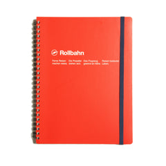 Rollbahn Large Notebook - Red