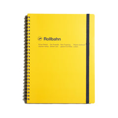 Rollbahn Large Notebook - Yellow