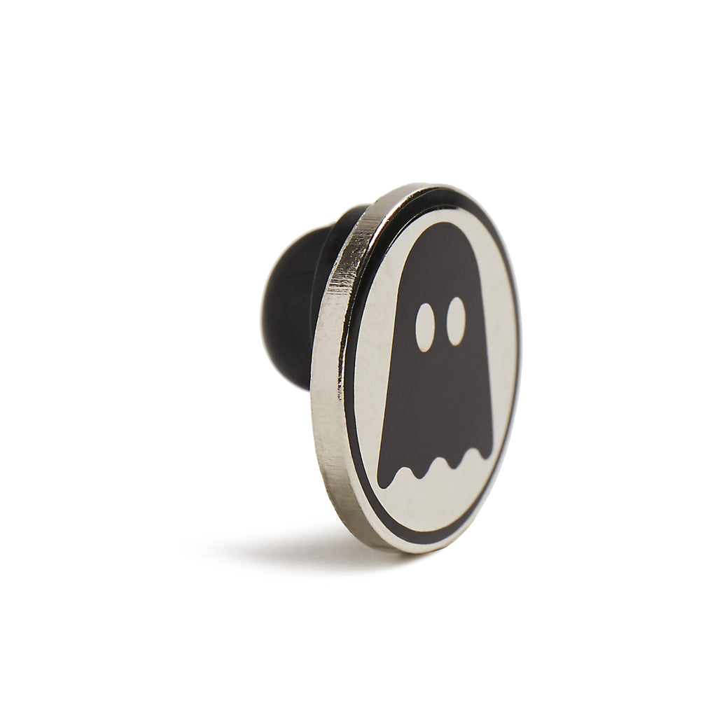 Ghostly Logo Enamel Pin