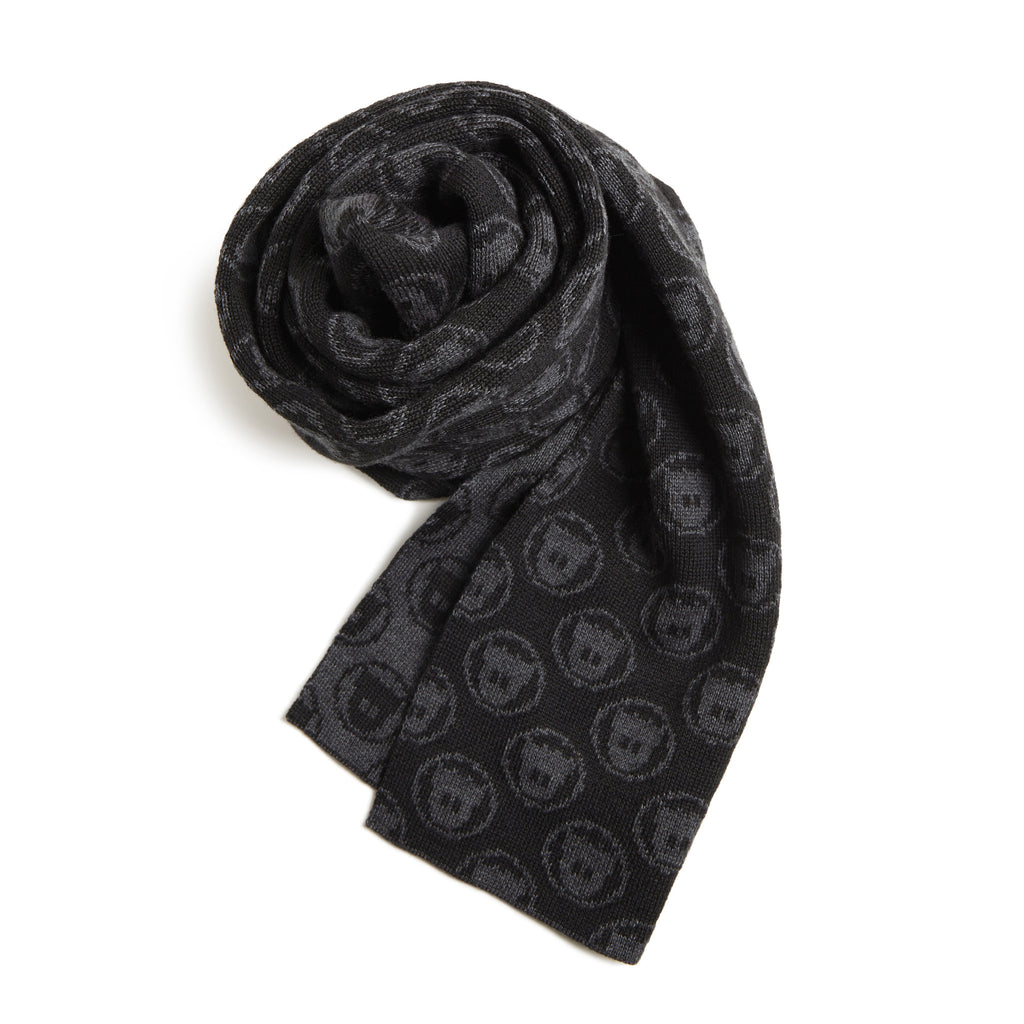 Ghostly Logo Scarf - Black