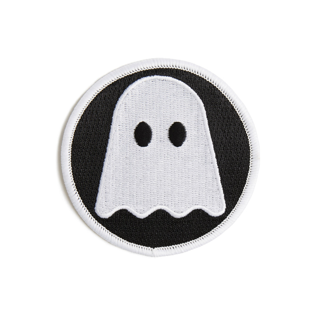 Ghostly Logo Patch