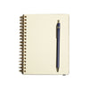 Rollbahn 'LP' Texture Notebook - Black
