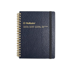 Rollbahn 'LP' Texture Notebook - Blue