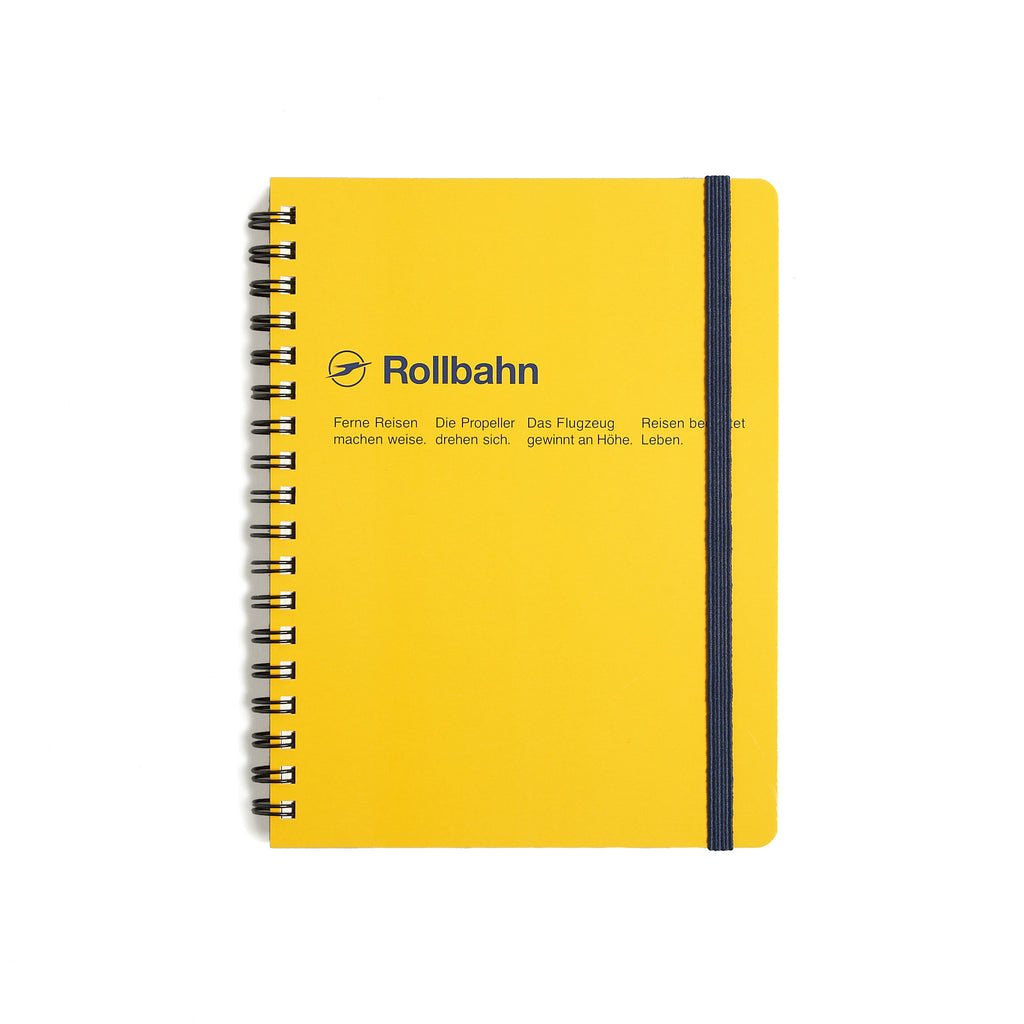 Rollbahn Small Notebook - Yellow