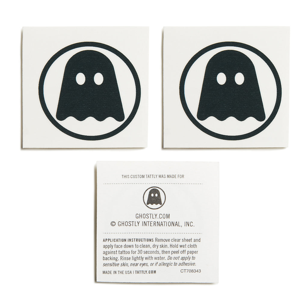 Ghostly Tattoo - Pack of 3 - International