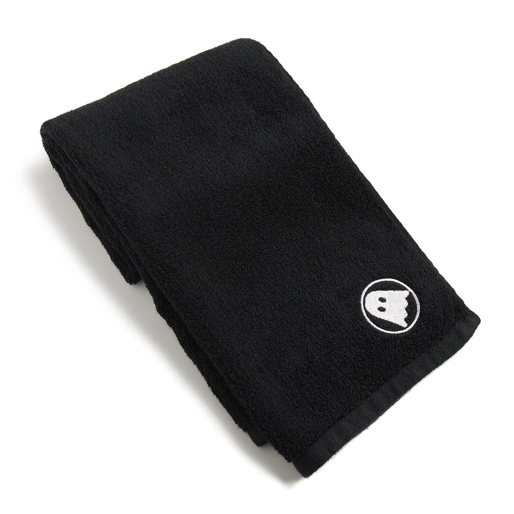 Ghostly Hand Towel - Black
