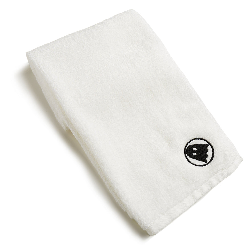 Ghostly Hand Towel - White