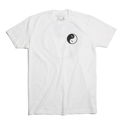 Ghostly Yin Yang Tee - White