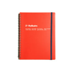 Rollbahn Medium Notebook - Red