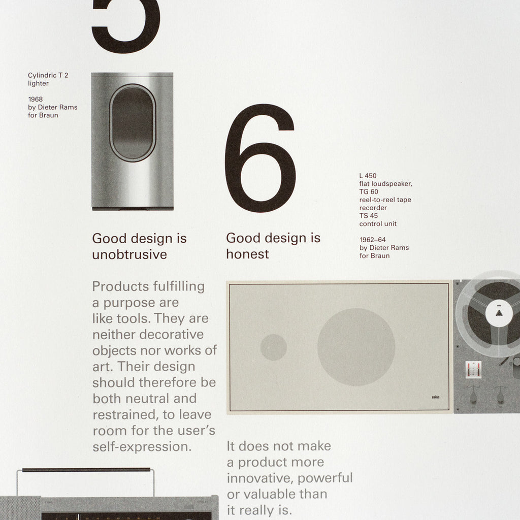 Poster design principles - 10 Principles For Good Design Poster