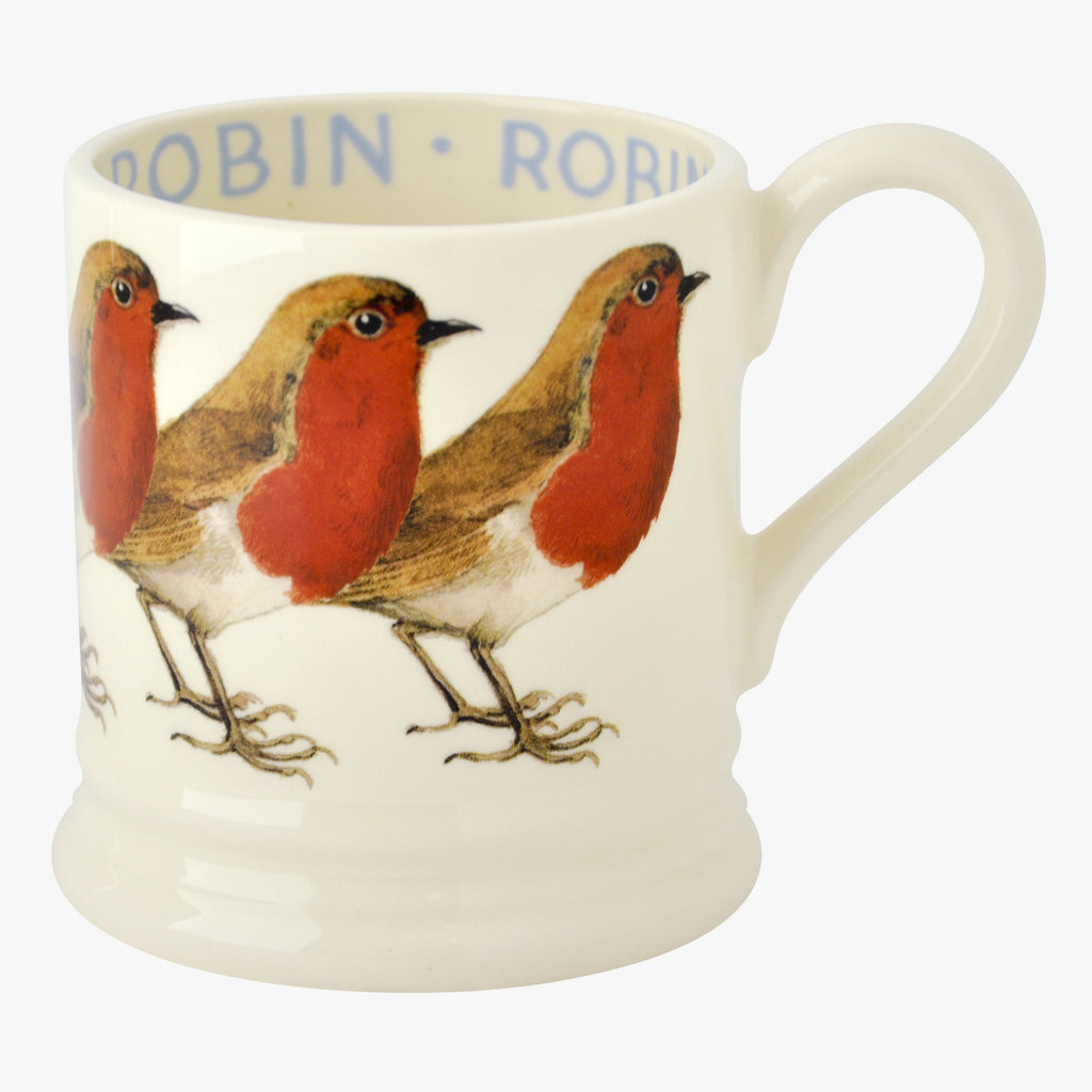 Birds Robin 1/2 Pint Mug