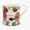 Seconds Beautiful Roses 1/2 Pint Mug