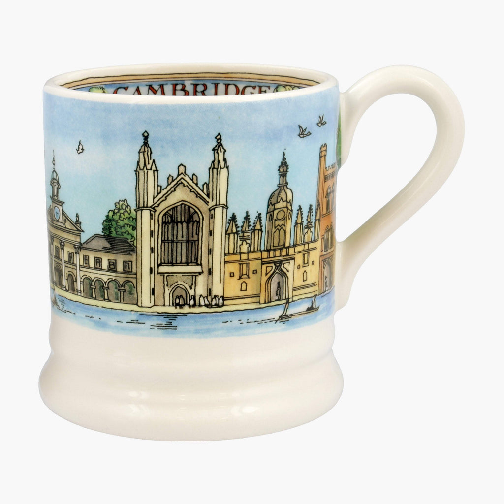 Seconds Cities Of Dreams Cambridge 1/2 Pint Mug