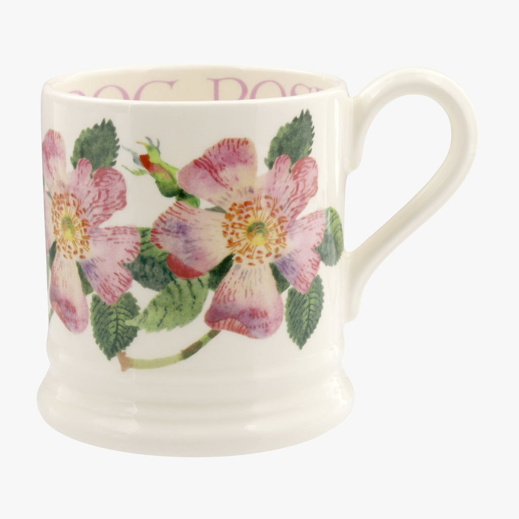 Flowers Dog Rose 1/2 Pint Mug