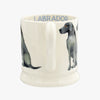 Seconds Dogs Black Labrador 1/2 Pint Mug