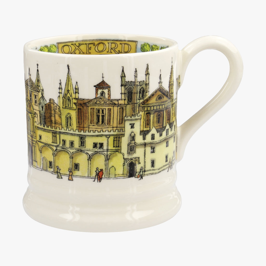 Seconds Cities Of Dreams Oxford 1/2 Pint Mug