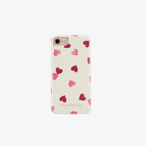 Pink Hearts Phone Case for iPhone 6 / 6S / 7 / 8