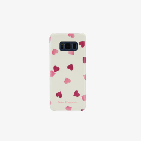 Pink Hearts Phone Case for Samsung S8