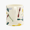 Seconds Polka Knives & Forks 1/2 Pint Mug