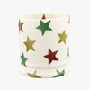 Red Green & Gold Star 1/2 Pint Mug