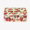 Vegetable Garden Strawberries Medium Shallow Tin