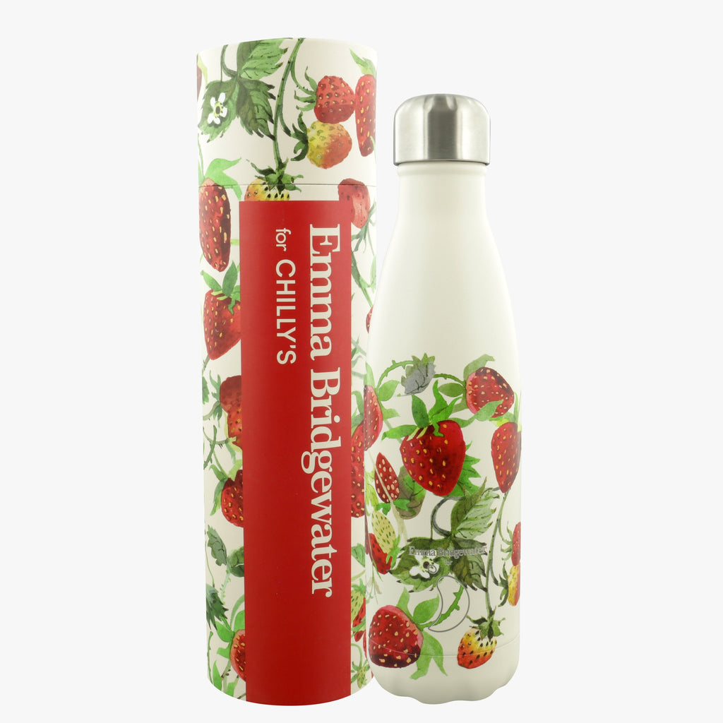 Vegetable Garden Strawberries Insulated Bottle