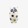 Stormy Stars Owl Small Jar With Ears