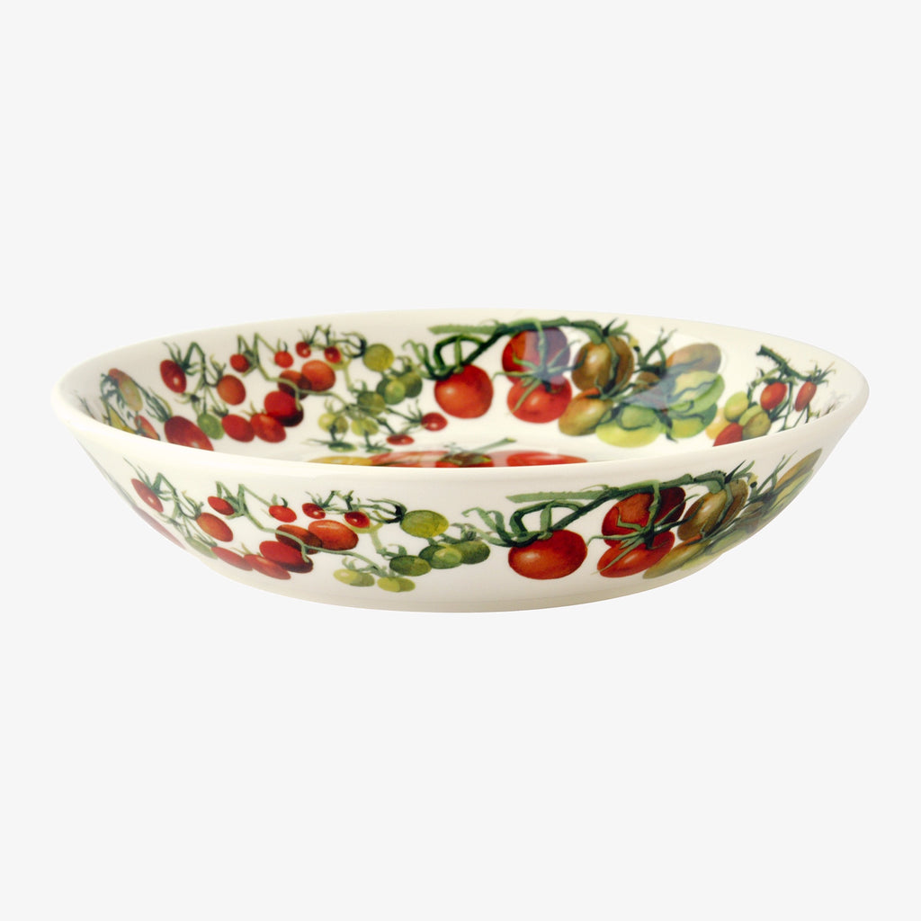 Seconds Vegetable Garden Tomatoes Medium Pasta Bowl