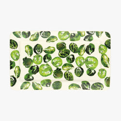 Seconds Vegetable Garden Sprouts Medium Oblong  Plate