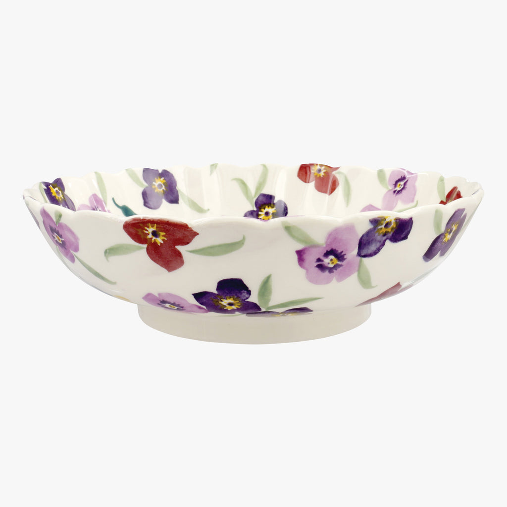 Wallflower Large Fluted Dish
