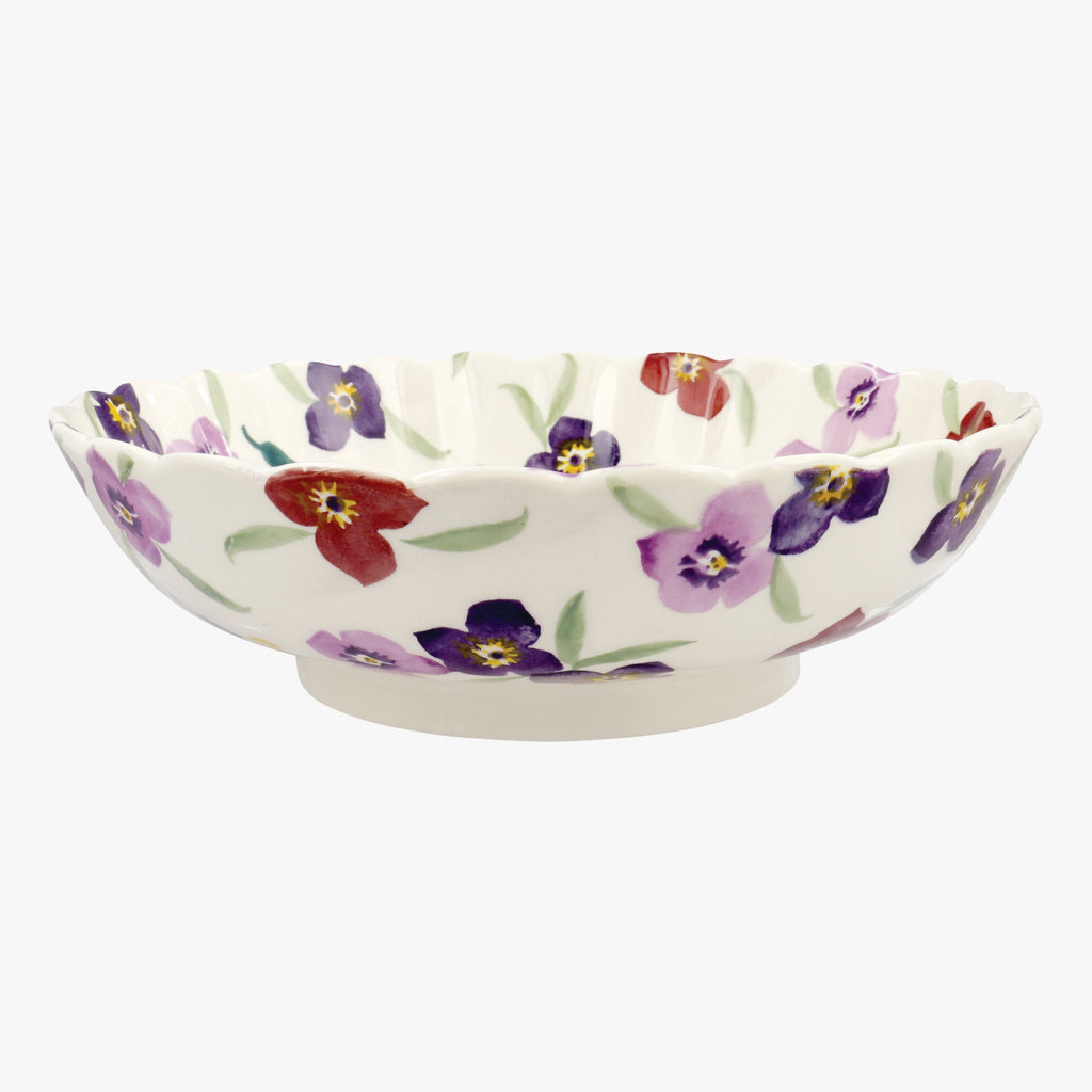 Seconds Wallflower Large Fluted Dish