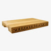 Black Toast Medium Wooden Chopping Board