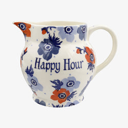 Personalised Anemone 3 Pint Jug