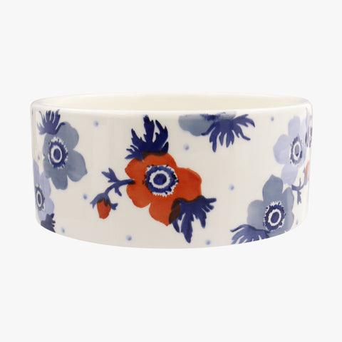Personalised Anemone Large Pet Bowl