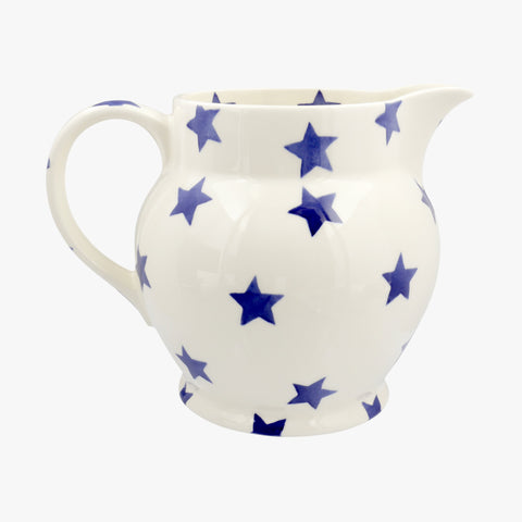 Personalised Blue Star 3 Pint Jug