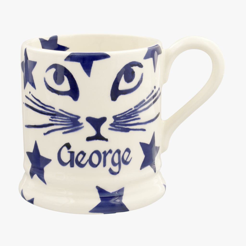 Personalised Pussycat 1/2 Pint Mug