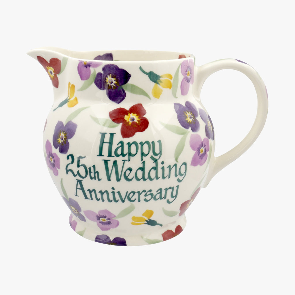 Personalised Wallflower 3 Pint Jug